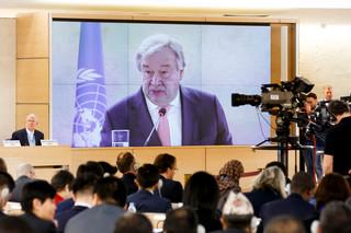 Seketarz generalny ONZ mówi o 'piekle na ziemi'. 'Najwyższy czas to zatrzymać'