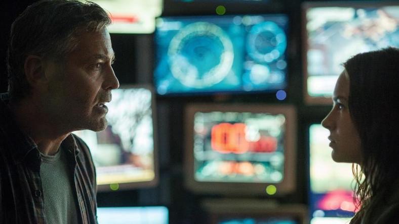 """George Clooney i Britt Robertson w filmie """"Tomorrowland"""""""