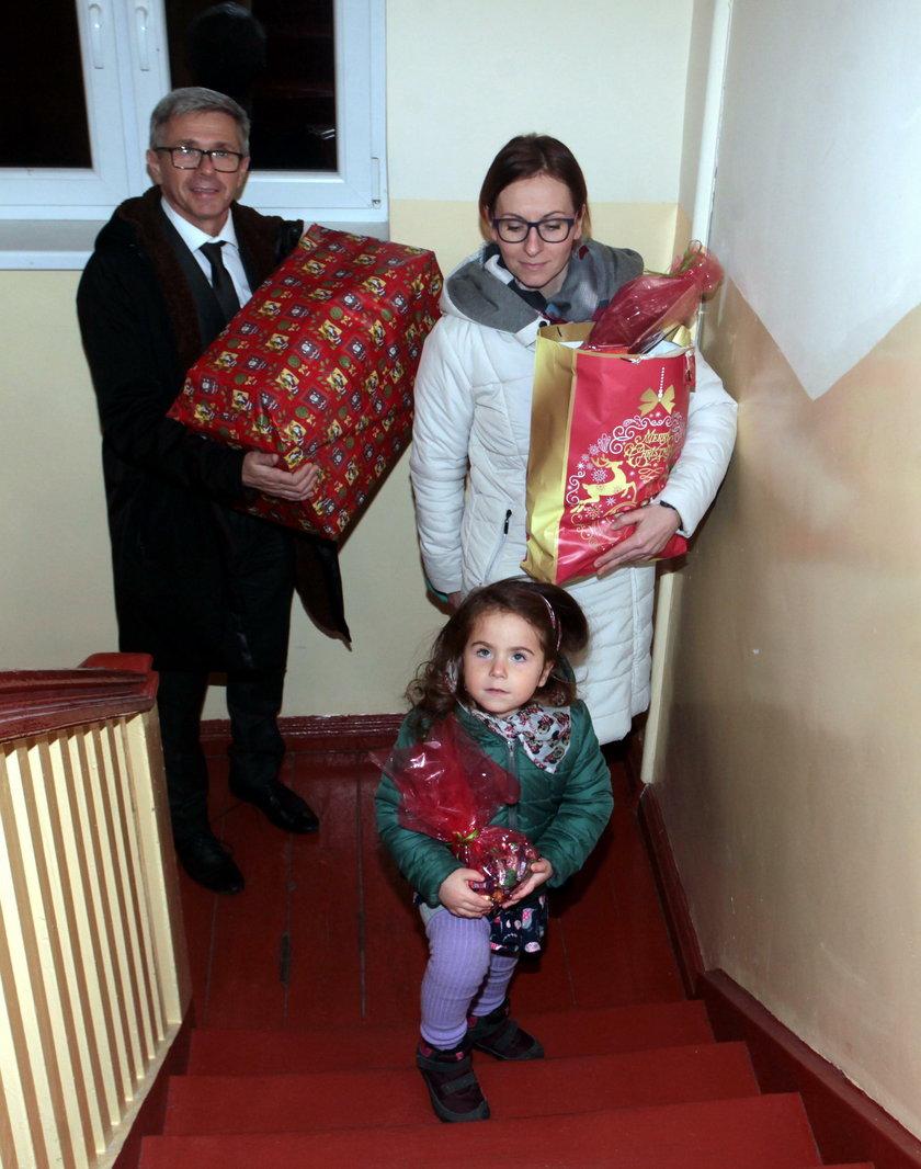 Gdański radny Andrzej Kowalczys z rodziną