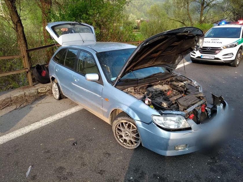 20-letni polski kierowca zatrzymany na Słowacji