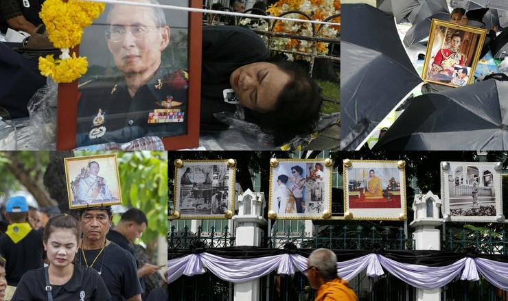 sahrana tajlandskog kralja