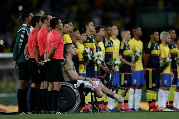 Reprezentacije Brazila i Kolumbije