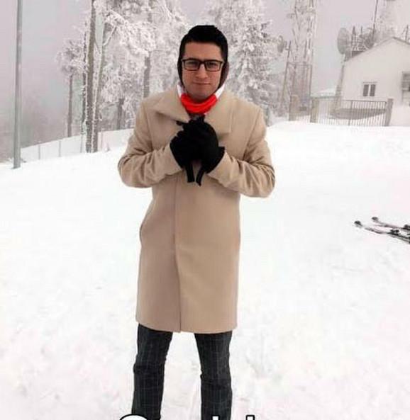 Sami prvi put na snegu
