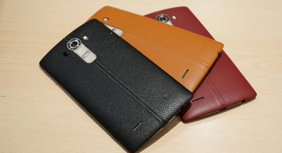 Hands-on: LG G4 mit Leder-Rückseite und Top-Display