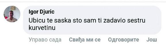 Uhapšeni Marko Marković objavljivao je užasne komentare ispod objave Igora Jurića predstavljajući se kao ubica njegove ćerke Tijane, ali se krio pod imenom Igor Đurić