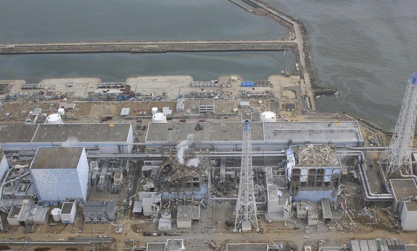 Fukushima elektrownia atomowa tsunami japonia