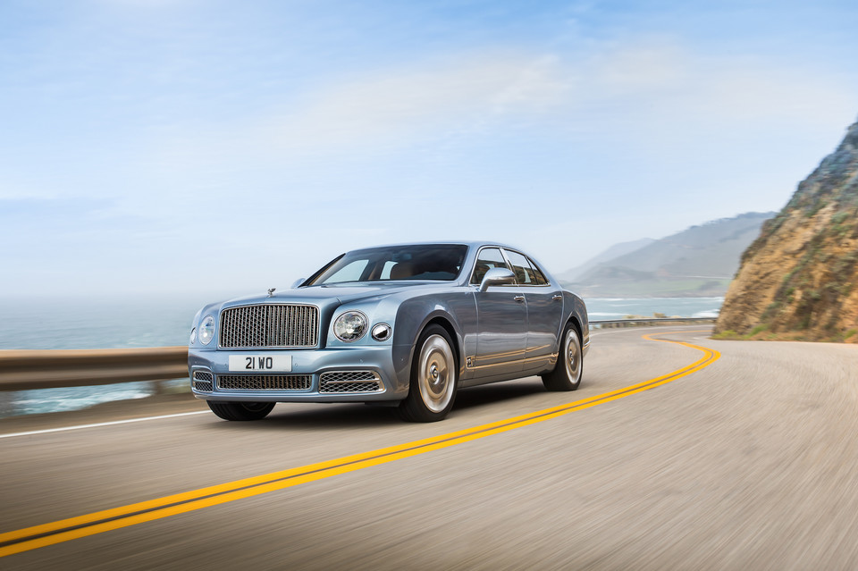 Bentley Mulsanne po liftingu