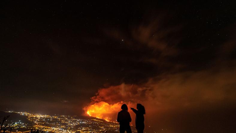 Wulkan Cumbre Vieja na wyspie La Palma