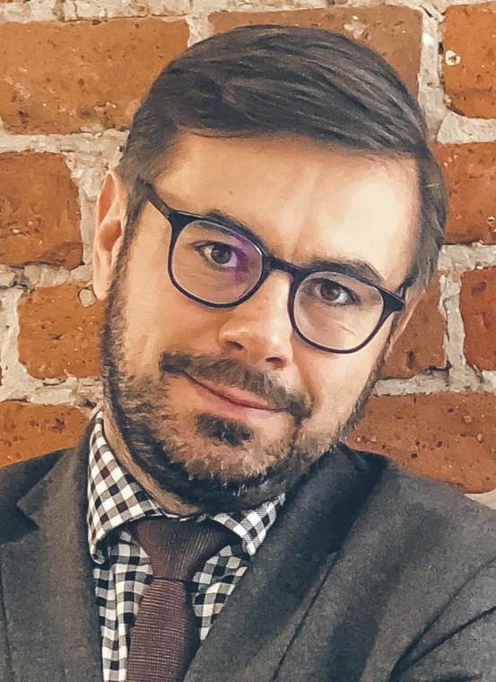 Bartosz Tiutiunik, adwokat  fot. Materiały prasowe