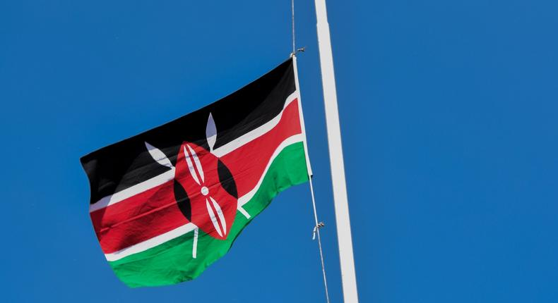 Kisumu chiefs arrested after Kenyan flag was used to cover a civilian's coffin during burial