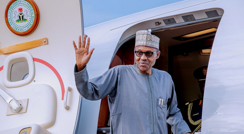 """Don't forget home,"" Buhari tells Nigerians living in South Africa"