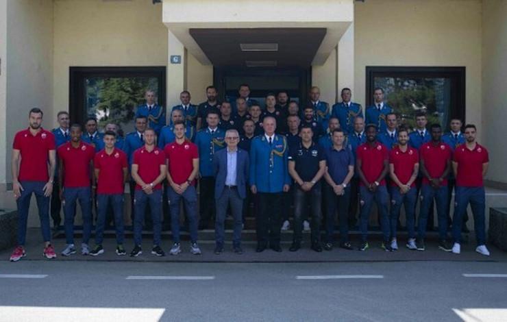 FK Crvena zvezda i Vojska Srbije