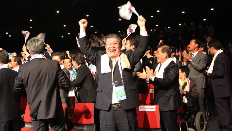 Radość Koreańczyków