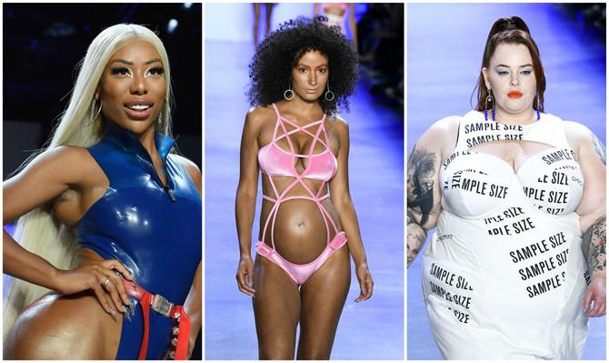 Postavljeni novi standardi lepote na reviji brenda Chromat na Nedelji mode u Njujorku