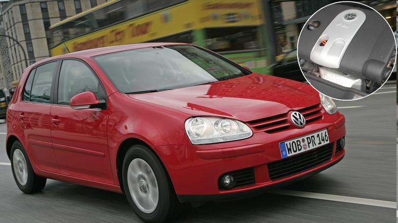 W Golfie V znajdziecie benzyniaki FSI oraz bardziej popularne - MPI (z pośrednim wtryskiem).