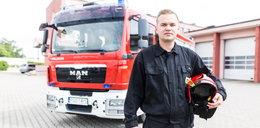 Strażak z Grodziska Wlkp. zbiera na wóz dla Tanzanii