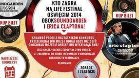 Konkurs Life On Stage - zostań gwiazdą Life Festival Oświęcim i zagraj obok Soundgarden i Claptona! Rozpoczął się II etap!