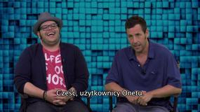 """""""Piksele"""": Adam Sandler i Josh Gad zapraszają na film"""