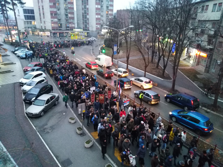 Protest, Kraljevo