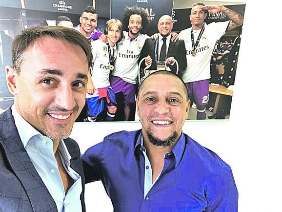 Nerazdvojni prijatelji: Milan Obradović i Roberto Karlos