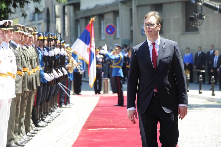 inauguracija predsednistvo09 garda gardisti foto RAS Srbija D. Milenkovic