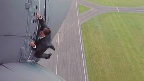 """Tom Cruise ryzykuje na planie """"Mission: Impossible - Rogue Nation"""""""