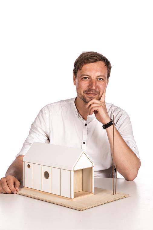 Jerzy Łątka: architekt, który buduje papierowe domy / fot. archi-tektura.eu