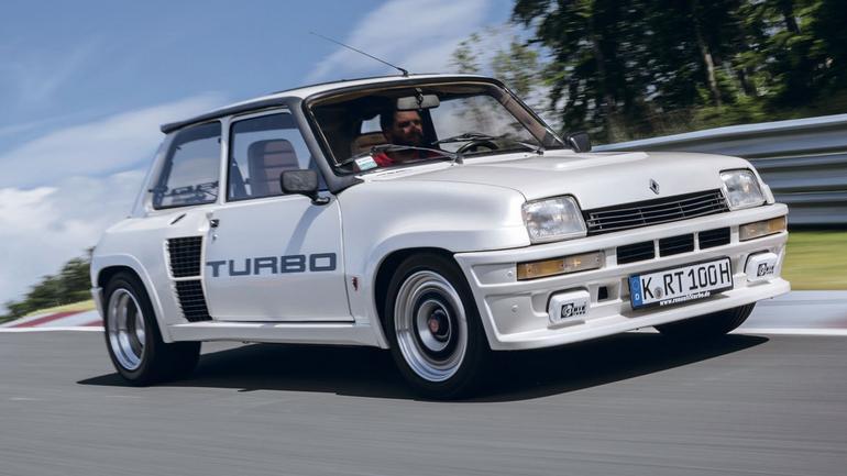 Renault 5 Turbo 1 - kulturysta z Francji