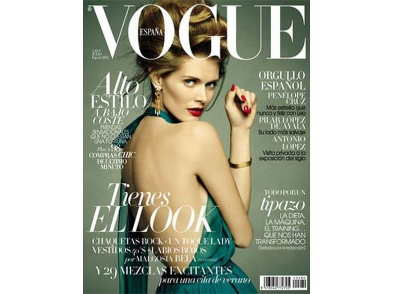 Małgorzata Bela na okładce Vogue Espana