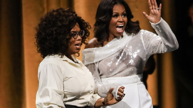 Oprah Winfrey i Michelle Obama