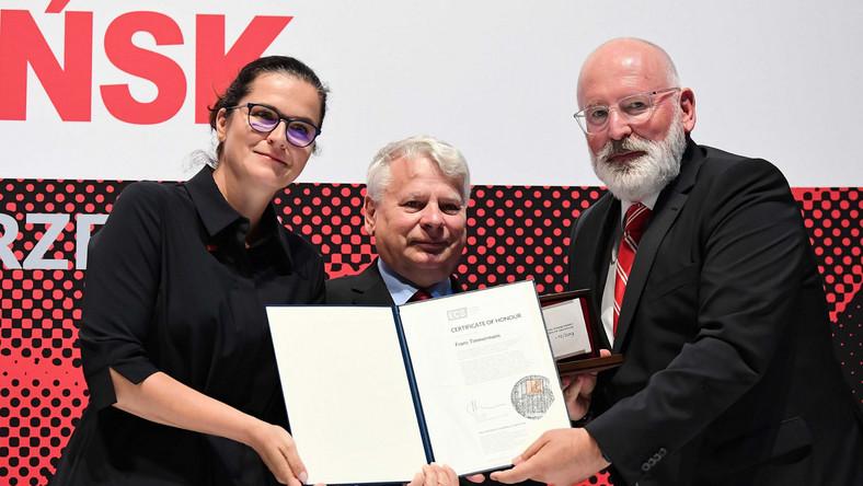 Frans Timmermans, Aleksandra Dulkiewicz, Bogdan Borusewicz