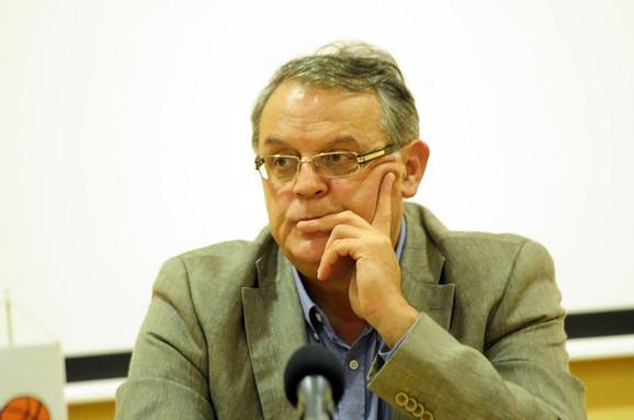 Predsednik KK Crvena zvezda Nebojša Čović