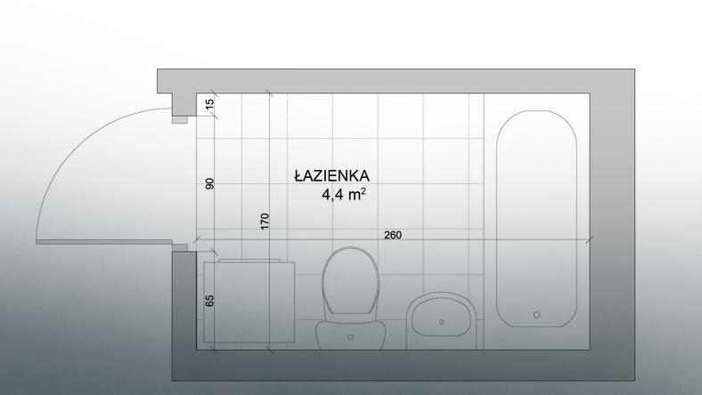 łazienka Z Wanną I Prysznicem Na Niewielkim Metrażu Dom