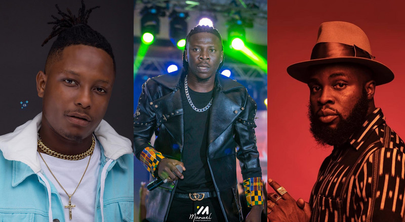 LISTEN: Kelvyn Boy hires M.anifest to jab Stonebwoy in new song?