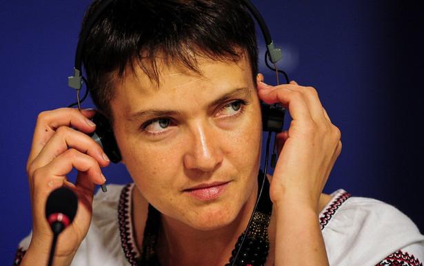 Nadija Sawczenko ukraińska parlamentarzystka. W maju 2016 r. opuściła rosyjskie więzienie po dwóch latach niewoli, wymieniona na dwóch rosyjskich żołnierzy wywiadu GRU.