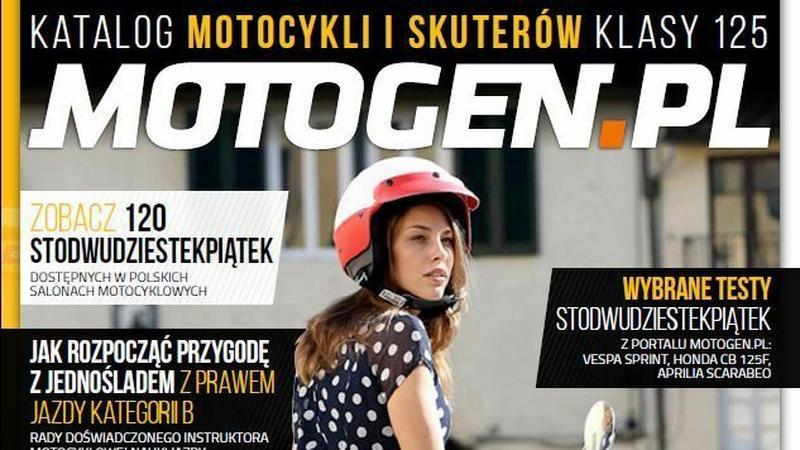 Katalog motocykli i skuterów klasy 125