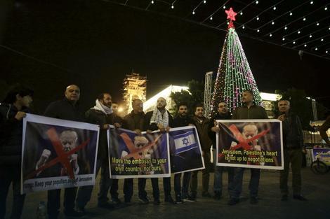 Palestinci protestuju u Jerusalimu zbog odluke Donalda Trampa