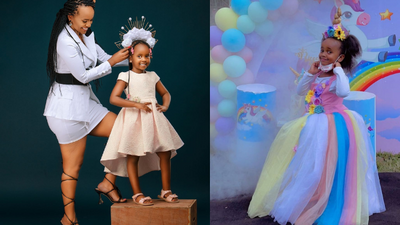 DJ Pierra Makena treats daughter to exquisite Birthday party as she turns 5 [Video]