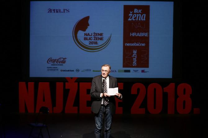 Dušan Kovačević na sceni Zvezdara teatra
