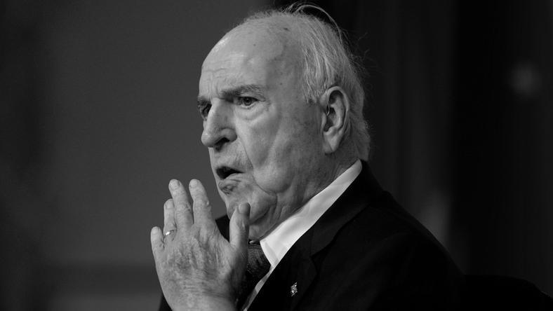 Helmut Kohl miał 87 lat