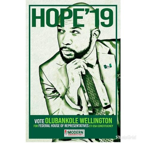 Banky W will run for the position of MP under the Modern Democratic Party platform. He hopes to achieve this goal without the influence of a godfather.