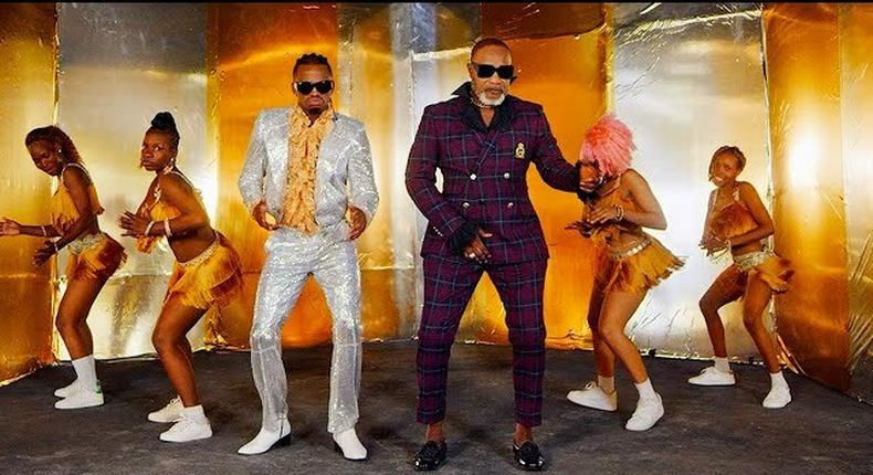 Diamond Platnumz's latest hit song 'Waah' featuring Congolese music maestro Koffi Olomide