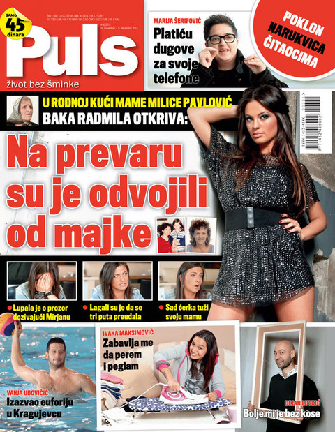 Novi Puls: Milicu Pavlović  oteli od majke