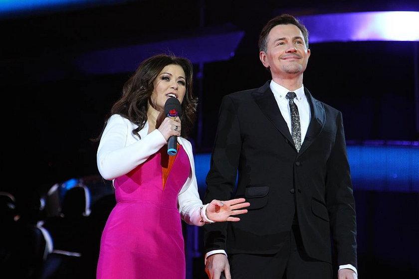 Krzysztof Ibisz i Katarzyna Cichopek