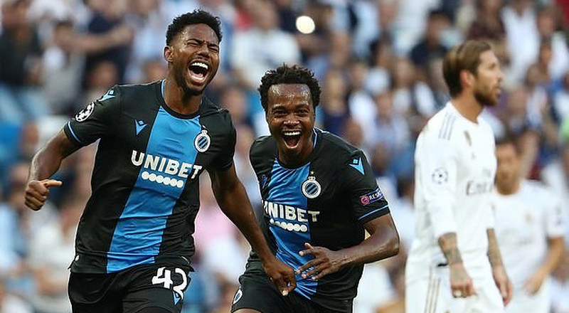 Super Eagles striker Emmanuel Dennis scores brace against Real Madrid in the Bernabeu
