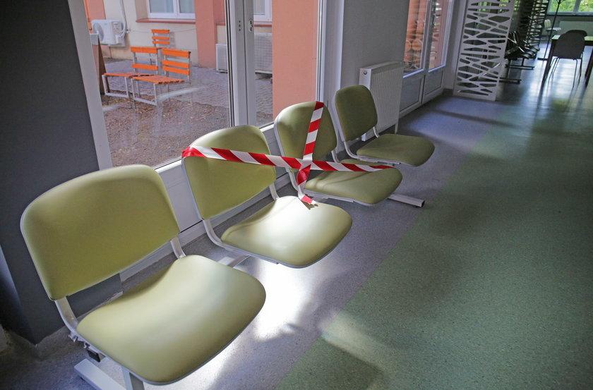 Co trzecie krzesło w poczekalni