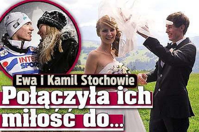 Ewa i Kamil Stochowie - połączyła ich miłośćdo...