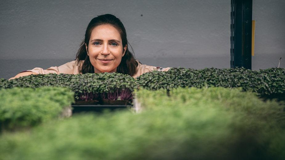 Farma wertykalna Listny Cud. Rozmawiamy z Matyldą Szyrle