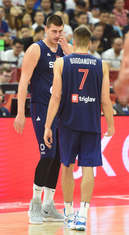 Nikola Jokić, Bogdan Bogdanović