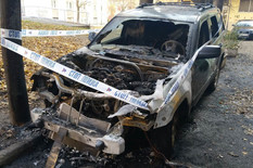 Zapaljen džip novosadskog advokata